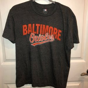 MLB Shirts - grey baltimore orioles t-shirt!